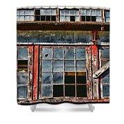 Broken Windows Shower Curtain by Paul Ward