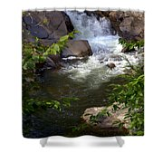 Brook Of Tranquility Shower Curtain by Karen Wiles