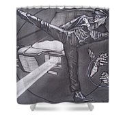 Bruce Lee Is Kato   1 Shower Curtain by Sean Connolly