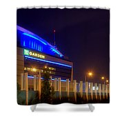 Bruins Country Panoramic Shower Curtain by Joann Vitali