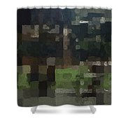 Bryant Park Shower Curtain by Linda Woods