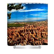 Bryce Shower Curtain by Robert Bales