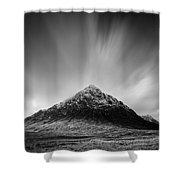Buachaille Etive Mor 1 Shower Curtain by Dave Bowman