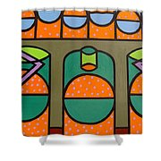 BUBBLES Shower Curtain by Patrick J Murphy