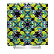 Buddha Abstract 20130130p120 Shower Curtain by Wingsdomain Art and Photography