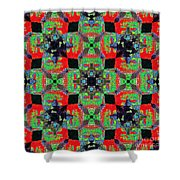 Buddha Abstract 20130130p55 Shower Curtain by Wingsdomain Art and Photography