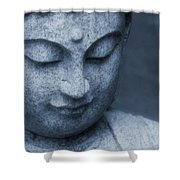 Buddha Statue Shower Curtain by Dan Sproul