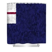 Bunker Hill Flag Shower Curtain by World Art Prints And Designs