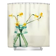 But I Love You Still Shower Curtain by Amy Tyler