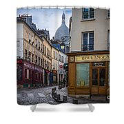 Butte de Montmartre Shower Curtain by Inge Johnsson