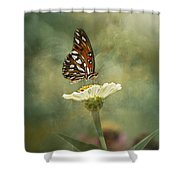 Butterfly Dreams Shower Curtain by Kim Hojnacki