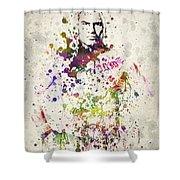 Cain Velasquez Shower Curtain by Aged Pixel