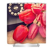 Call Me My Love Shower Curtain by Edward Fielding