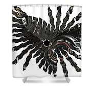 Camera Bug Shower Curtain by Cheryl Young