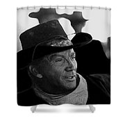 Cameron Mitchell The High Chaparral Shower Curtain by David Lee Guss