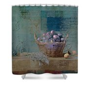 Campagnard - Rustic Still Life - J085079161f Shower Curtain by Variance Collections