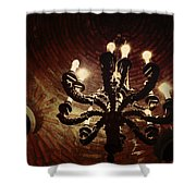 Candelabra Shower Curtain by Natasha Marco