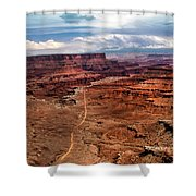 Canyonland Shower Curtain by Robert Bales