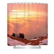 Canyonlands Winter Shower Curtain by Chad Dutson