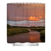 Cape Cod Bells Neck Shower Curtain by Juergen Roth