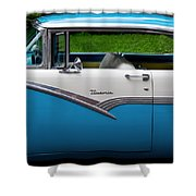 Car - Victoria 56 Shower Curtain by Mike Savad