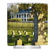 Carnton Plantation Shower Curtain by Brian Jannsen