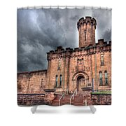 Castle Of Solitude Shower Curtain by Lori Deiter