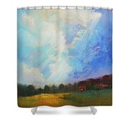 Catch The Light Shower Curtain by Celine  K Yong