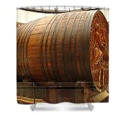 Cathedral Of Champagne Shower Curtain by Jeff at JSJ Photography