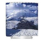 Caucasia Elbrus Shower Curtain by Unknown