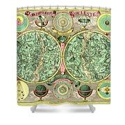 Celestial Map Shower Curtain by Gary Grayson