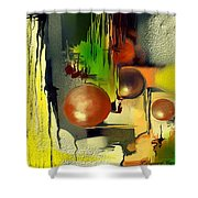 Centaure Shower Curtain by Francoise Dugourd-Caput