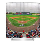 Champion Stadium II Shower Curtain by C H Apperson
