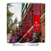 Champs Again Shower Curtain by Mike Ste Marie