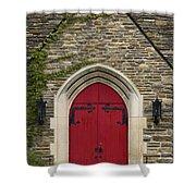 Chapel - D003211 Shower Curtain by Daniel Dempster