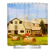 Charlotte Vermont Gem Shower Curtain by Deborah Benoit
