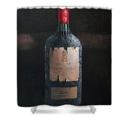 Chateau Latour Shower Curtain by Lincoln Seligman