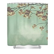 Cherry Blossom In Fulwood Park Shower Curtain by Georgia Fowler