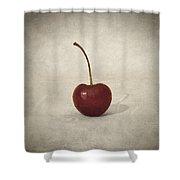 Cherry Shower Curtain by Taylan Soyturk