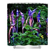 Chihuly Woods Shower Curtain by Diana Powell