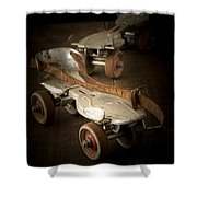 Childhood Memories Shower Curtain by Edward Fielding