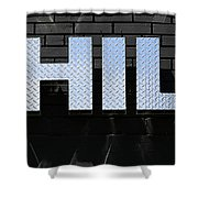 Chill Shower Curtain by Andrew Fare