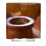 Chimineas Shower Curtain by Stuart Litoff