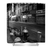 Chinatown New York City - Joe's Ginger On Pell Street Shower Curtain by Gary Heller