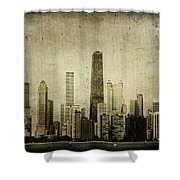 Chitown Shower Curtain by Andrew Paranavitana