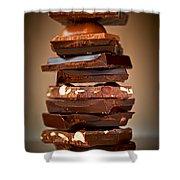 Chocolate Shower Curtain by Elena Elisseeva