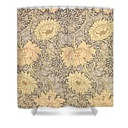Chrysanthemum Shower Curtain by William Morris