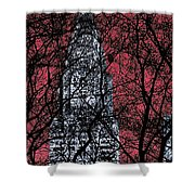 Chrysler Building 8 Shower Curtain by Andrew Fare
