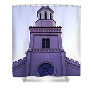 Church Shower Curtain by Andrea Anderegg