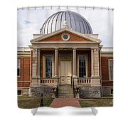 Cincinnati Observatory In Cincinnati Ohio Shower Curtain by Paul Velgos
